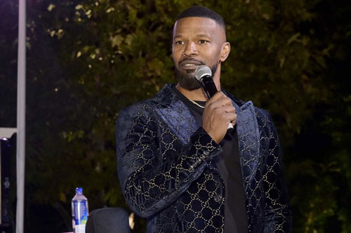 Jamie Foxx performing at A Sense of Home gala. Stefanie Keenan/Getty Images for A Sense of Home